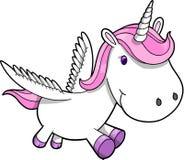 Unicórnio Pegasus Imagens de Stock