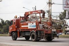Unic Crane Truck de TOT Company imagen de archivo