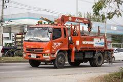 Unic Crane Truck di TOT Company immagine stock