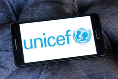 Unicef logo Royalty Free Stock Image