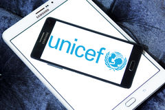 Unicef logo Royalty Free Stock Photo