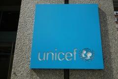 UNICEF Logo Stock Photos