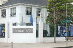 UNICEF Offices in Chile Royalty Free Stock Photography