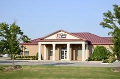 Unico Bank Building, Treeo marcado, Arkansas fotografia de stock