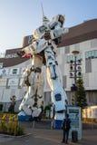 UNICON GUNDAM标度RX-0在Div的流动衣服雕象1:1模型  库存图片