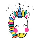unicorn Royaltyfria Bilder
