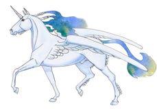 unicorn illustration de vecteur