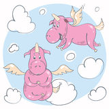 unicorn ilustração royalty free