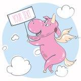 unicorn Arkivfoton
