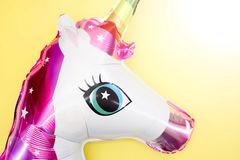 Unicorn Balloon stockfotos