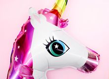 Unicorn Balloon photographie stock libre de droits