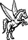 Unicorn cartoon Vector Clipart Stock Photo