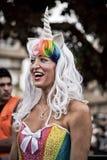Unicorn costume Stock Images