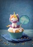 Unicorn cupcakes Stock Photos