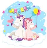 A unicorn for decor. Illustration vector illustration