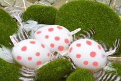 Unicorn eggs Stock Images