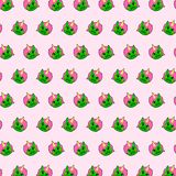 Unicorn - emoji pattern 69. Pattern of a emoji unicorn that can be used as a background, texture, prints or something else vector illustration