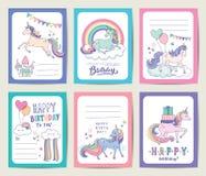 Free Unicorn Gift Tags Stock Image - 168765711