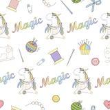 2018 05 06_unicorn handmade_P2 ilustración del vector