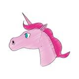 Unicorn horse icon Stock Images