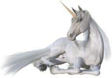 Free Unicorn Horse, Laying Down, Isolated Stock Image - 158018301