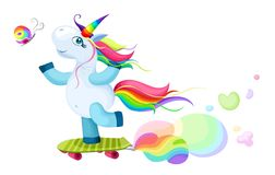 Unicorn illustration Stock Photos