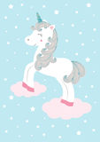 Unicorn -  illustration Stock Photos