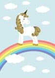 Unicorn -  illustration Royalty Free Stock Image