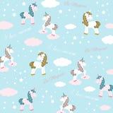 Unicorn -  illustration Stock Images