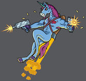 Unicorn Killer Lizenzfreies Stockbild