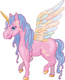Unicorn Pegasus Vector Illustration Stock Photography