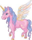 Unicorn Pegasus Vector Illustration Stock Photography