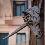 Unicorn  sculpture Royalty Free Stock Photography