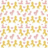 Unicorn seamless Stock Photos