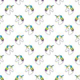 Cute Childish Seamless Pattern With Cartoon Character Of