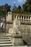 The Unicorn Stairs in the Mirabell Gardens in Salzburg Austria Stock Photos