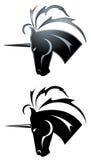 Unicorn tattoo Royalty Free Stock Photos