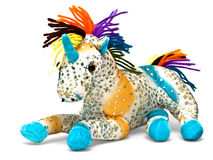 Unicorn toy Stock Photos
