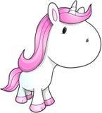 Unicorn Vetor bonito Fotografia de Stock Royalty Free