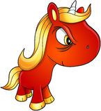 Unicorn Vetora mau Imagens de Stock Royalty Free