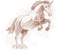 Unicornio. stock de ilustración