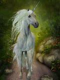 Unicornio blanco libre illustration