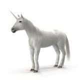 Unicornio blanco Fotos de archivo libres de regalías
