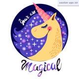 unicornio de la noche libre illustration