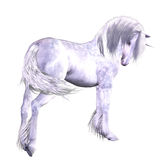 Unicornio de plata libre illustration
