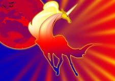 unicornio fantástico Fotografía de archivo