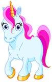 Unicornio lindo Fotografía de archivo libre de regalías