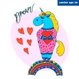 unicornio más grande ideal coloreado libre illustration