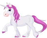 Unicornio reservado que va Foto de archivo