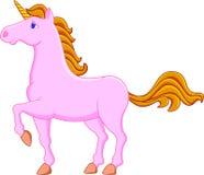 Unicornio rosado Fotos de archivo libres de regalías